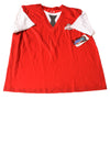 NEW Jup Mode Men's Shirt X-Large Red & White
