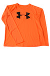 USED Under Armour Boy's Shirt Large Orange