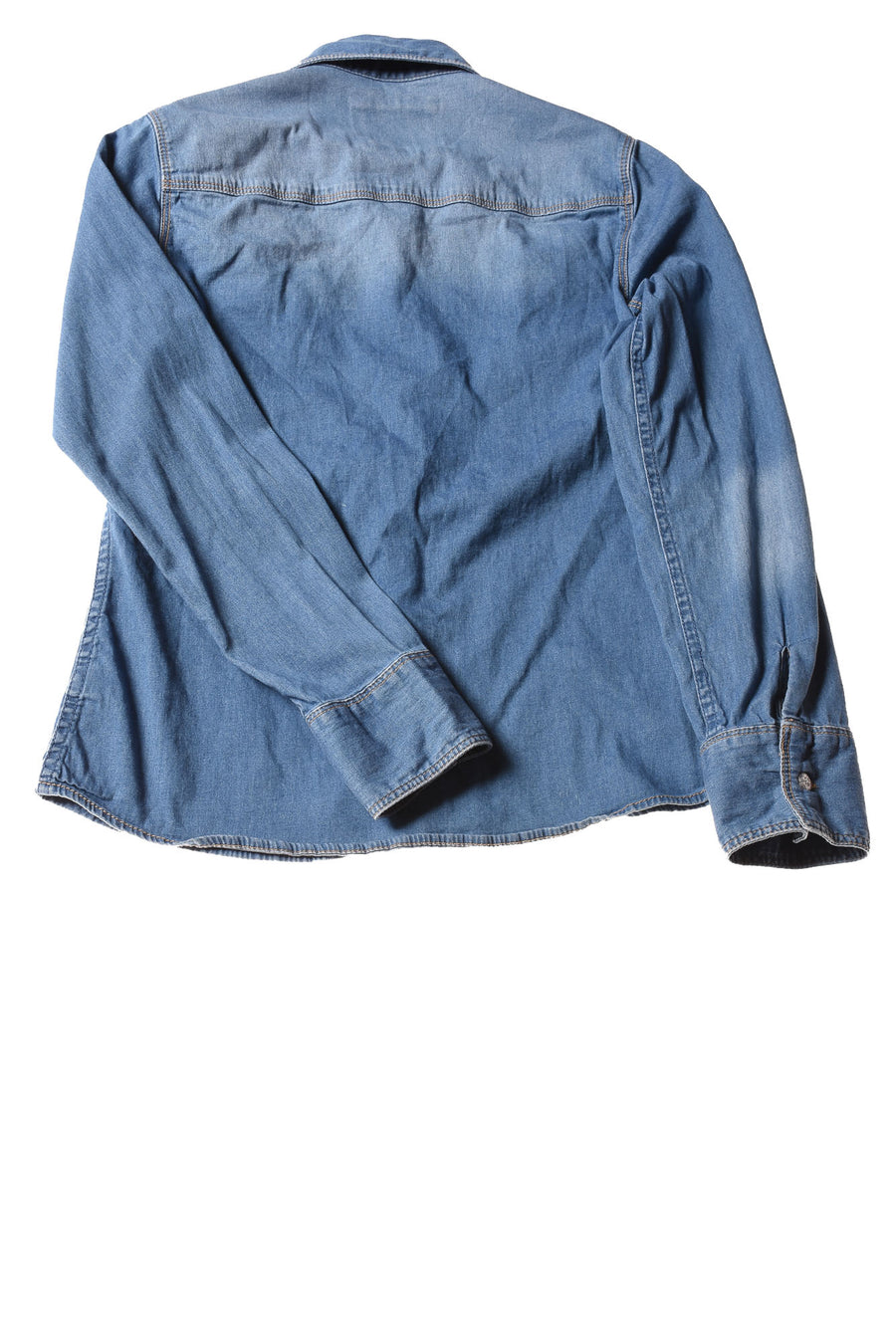 USED Justice Girl's Top 14 Blue