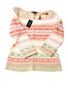 NEW Express Women's Sweater Medium Multi-Color / Print