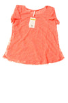 NEW Leo & Nicole Women's Top Medium Coral