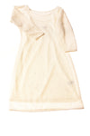 USED Express Women's Dress Small Ivory