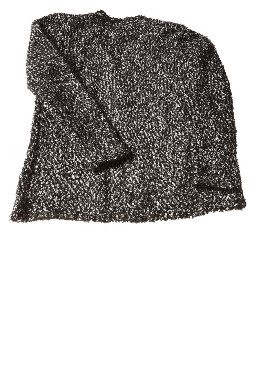 USED Style & Co. Women's Sweater Large Black & White