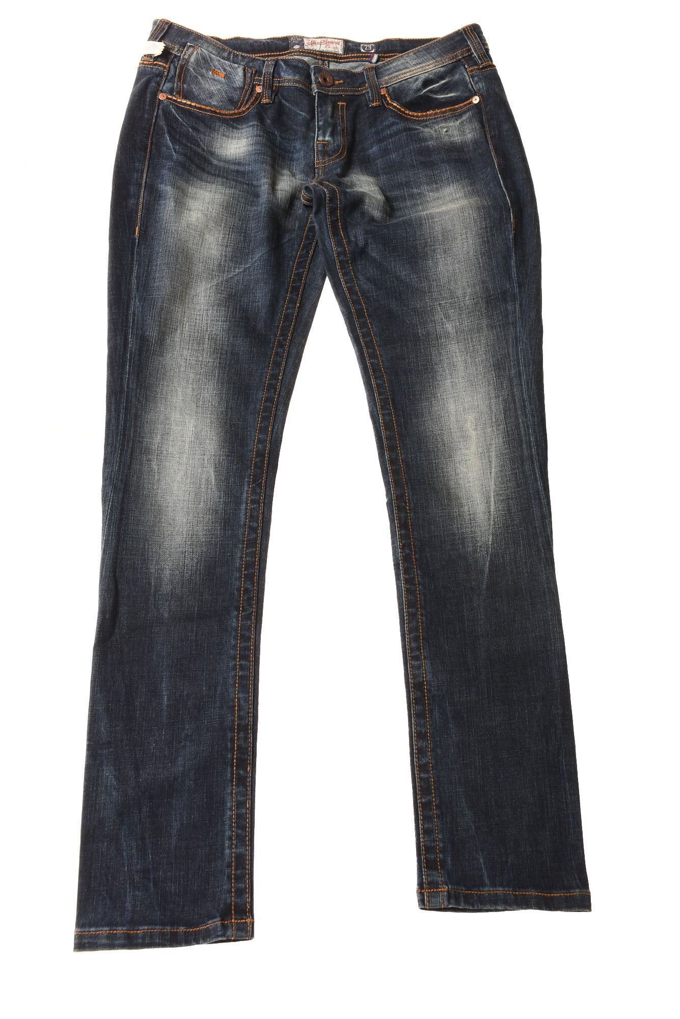 13fc146d7ed USED Akoo Brand Men s Jeans 29x31 Blue - Village Discount Outlet