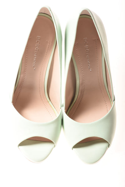 USED BCBG Eneration Women's Shoes Mint 7.5