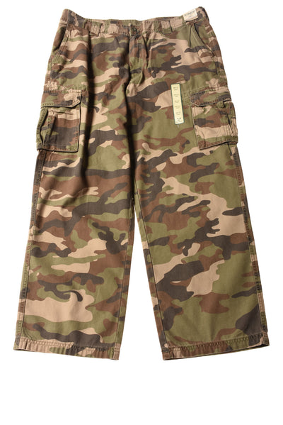NEW Outdoor Life Men's Cargo Pants 38x32 Multi-Color