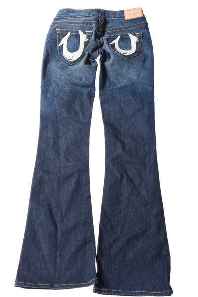 NEW True Religion Women's Jeans 25 Blue