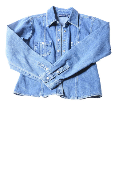 USED Limited Too Girl's Top 14 Blue