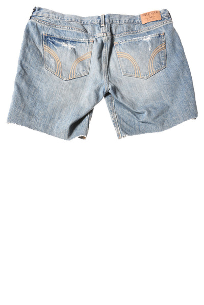 USED Hollister Women's Shorts 11 Blue