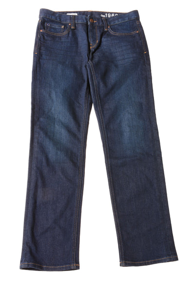 USED Gap Women's Jeans 28 Blue