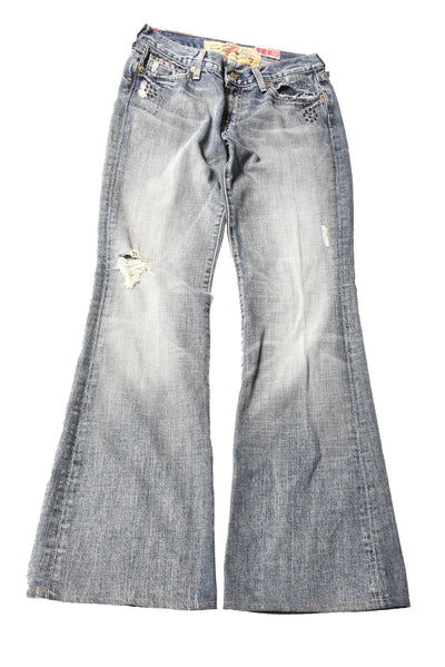 USED 7 For All ManKind Women's Jeans 29 Blue