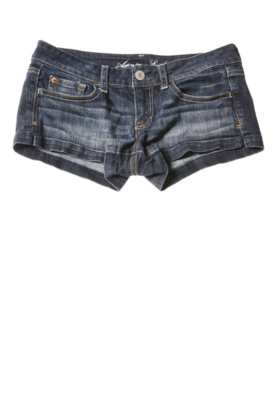 USED American Eagle Women's Shorts 4 Blue