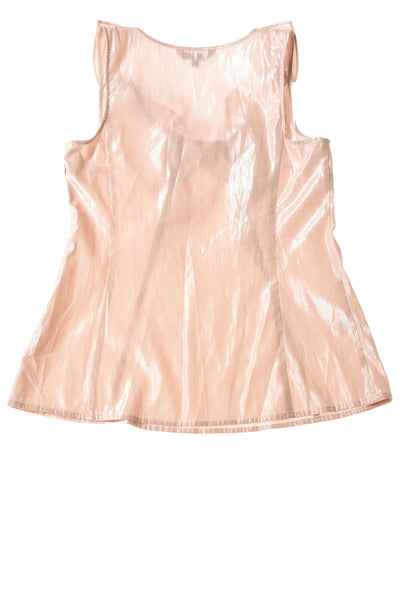 USED  Express Women's Top Medium Pale Pink