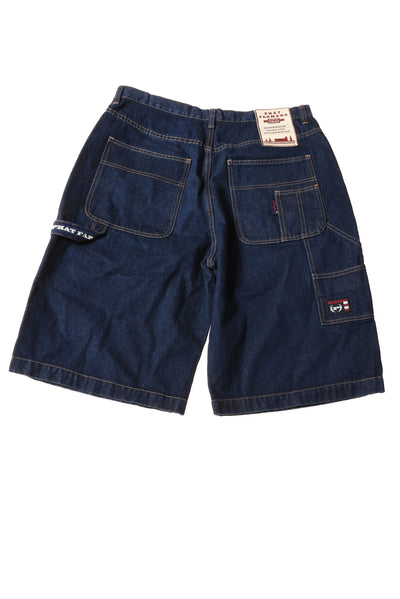 USED  Phat Farm Men's Shorts 34 Blue