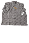 NEW Axist Men's Shirt X-Large Gray & Black