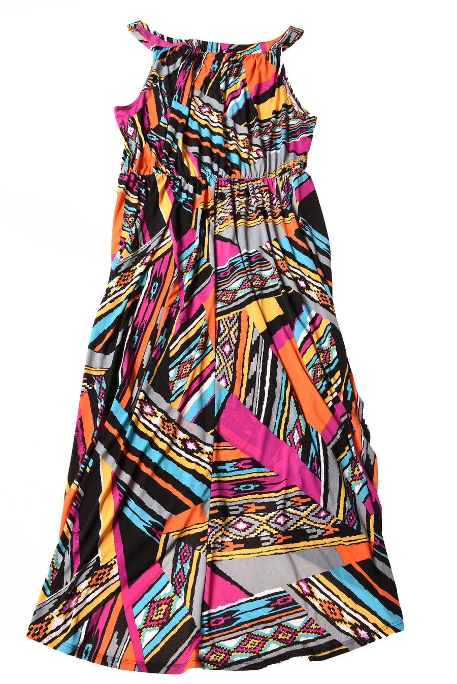 USED Antthony Women's Dress 1X Multi-Color