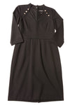 USED White House Black Market Women's Dress 4 Black