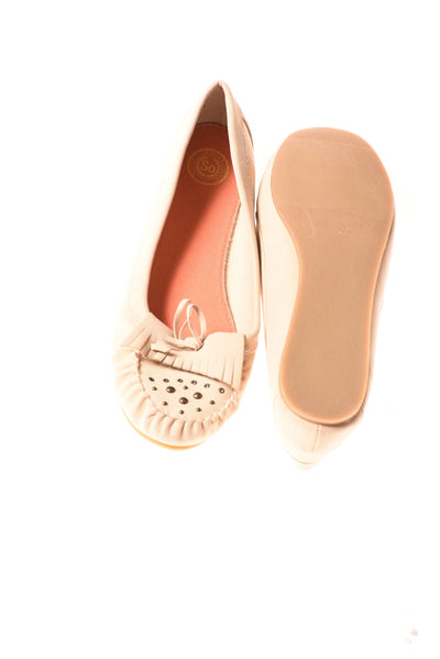 USED So Women's Shoes 10 Tan