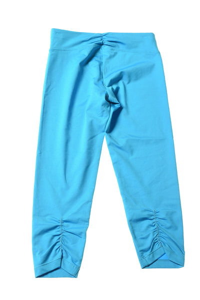 USED Calvin Klein Women's Yoga Pants Small Blue
