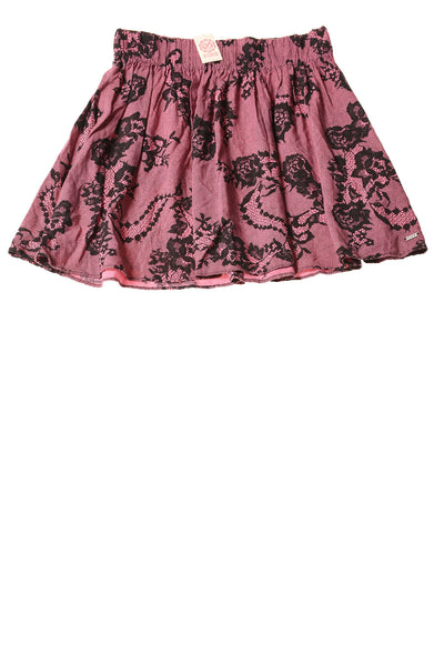 NEW Pink Women's Skirt X-Small Pink & Black