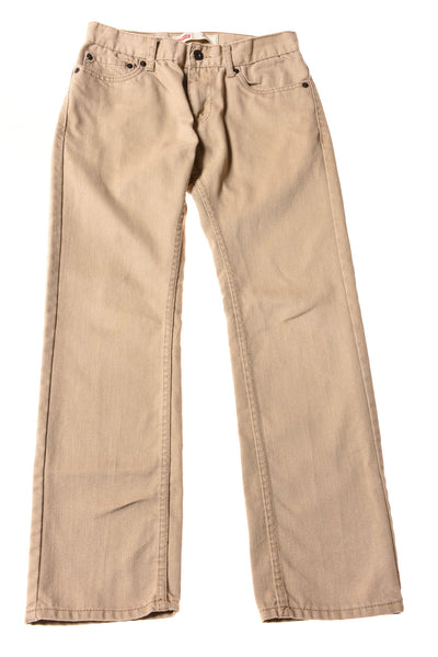 USED Levi's Boy's Jeans 14 Tan