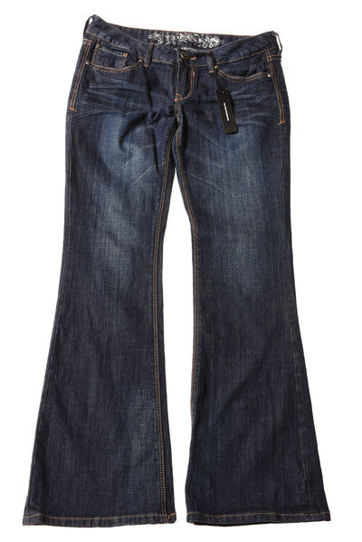 USED Express Jeans Women's Jeans 2 Blue