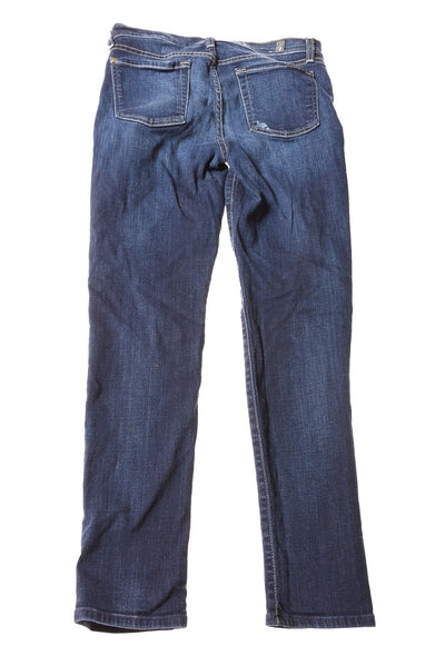 USED 7 For All ManKind Women's Jeans W28 Blue