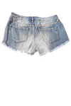 USED Mossimo Women's Shorts 4 Blue