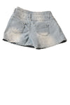 USED Blue Asphalt Women's Shorts 7 Blue