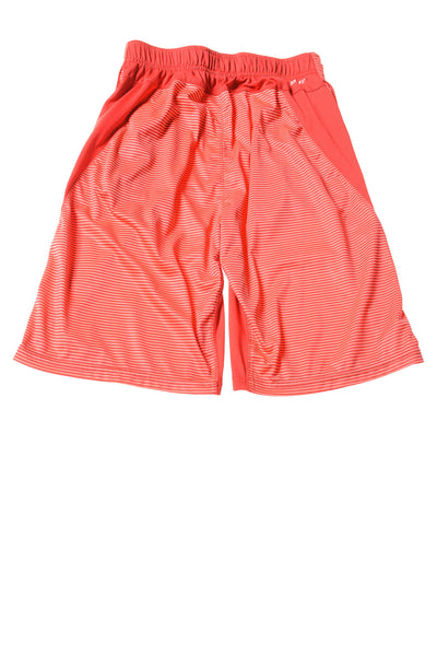 USED Nike Boy's Shorts Large Orange & Red