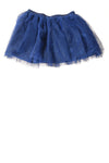 NEW The Children's Place Girl's Skirt 10 Blue