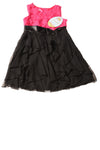 NEW Cinderella Girl's Dress 10 Black & Pink