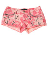 USED Juicy Couture Women's Shorts W28 Pink