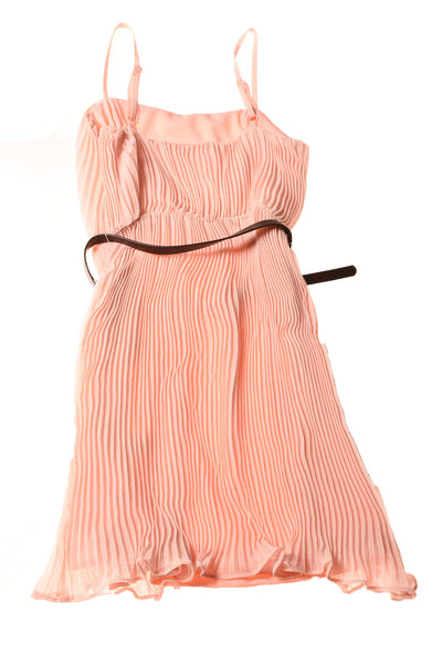 NEW Forever 21 Women's Dress Small Peach