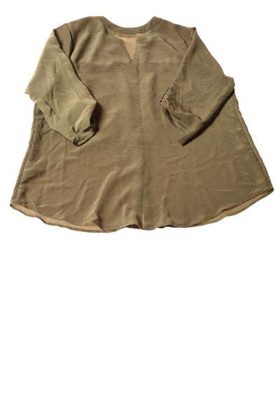 NEW Sag Harbor Women's Top 1X Martini Olive