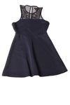 USED Mossimo Women's Dress Small Blue