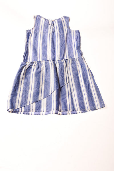 NEW Crew Cuts Girl's Dress 8 Blue & White