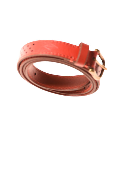 USED Fossil Women's Belt X-Large Red