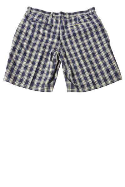 USED Callaway Men's Shorts 34 Blue / Plaid