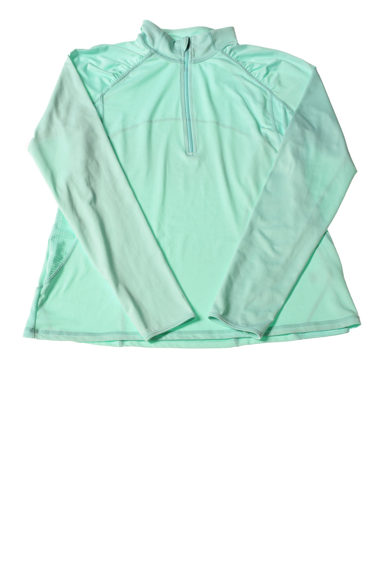 35502c58a6872 USED Xersion Women's Top Large Aqua - Village Discount Outlet