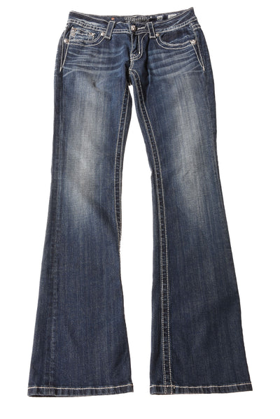 USED Miss Me Women's Jeans W28 Blue