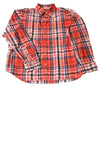 USED Old Navy Men's Shirt X-Large Red / Plaid