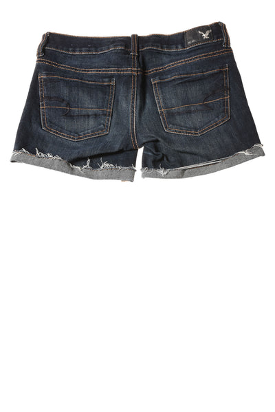 USED American Eagle Women's Shorts 00 Blue