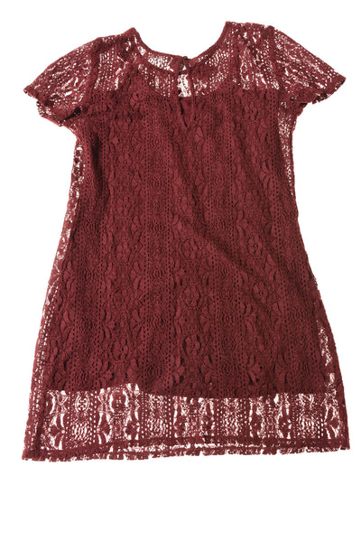 NEW Abercrombie & Fitch Women's Dress X-Small Cranberry