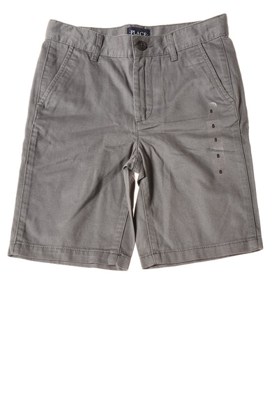 NEW The Children's Place Boy's Shorts 8 Gray