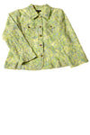USED Mahtani Women's Coat X-Large Green / Print