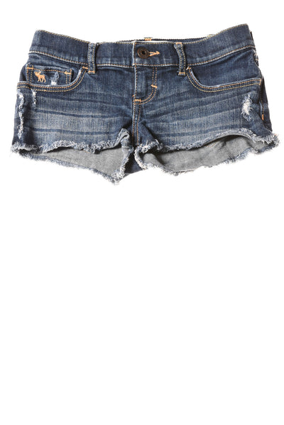 USED abercrombie Girl's Shorts 10 Blue