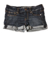 USED American Eagle Women's Shorts 4 Dark Blue