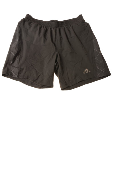 USED Adidas Men's Swimwear Medium Black