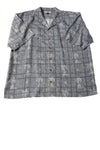USED Tommy Bahama Men's Shirt X-Large Blue /Print